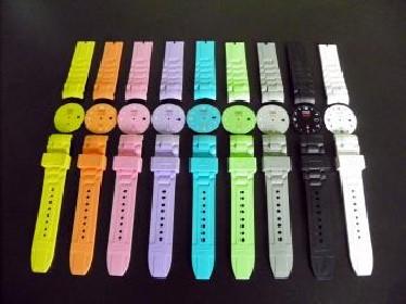 Bracelets pour montres en silicone